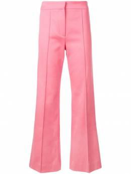 Derek Lam укороченные расклешенные брюки со складками DP91101CJ