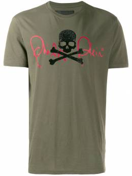 Philipp Plein футболка Signature с декором Skull A19CMTK3872PJY002N
