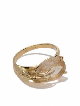 Wouters&Hendrix Gold кольцо из желтого золота с кварцем R167QYG