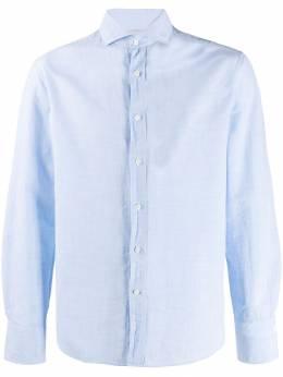 Brunello Cucinelli рубашка из ткани шамбре MS6661718C012