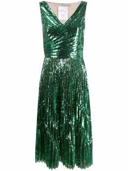 Marco De Vincenzo коктейльное платье с пайетками MD5473AMDVPL03