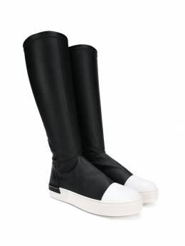 Cinzia Araia Kids contrast toe boots AK1701T