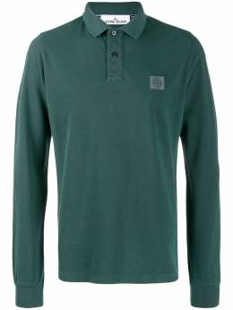 Stone Island chest patch polo shirt MO71152SS67