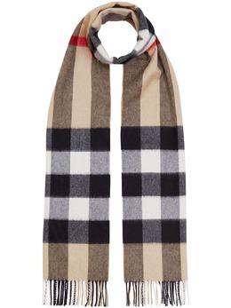 Burberry кашемировый шарф в клетку 8018175