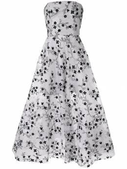 Bambah платье без бретелей с вышивкой SS19BMSS1935