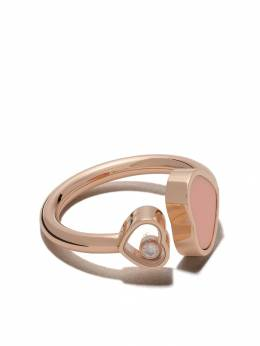 Chopard 18kt rose gold Happy Hearts diamond ring 8294825608