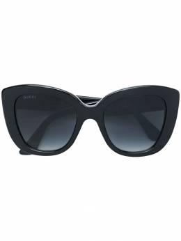 Gucci Eyewear oversized cat-eye sunglasses GG0327S
