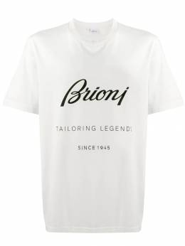 Brioni футболка с логотипом UJCH0LO8628