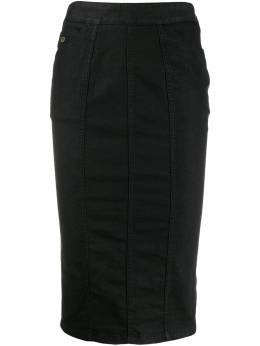 Gucci Pre-Owned джинсовая юбка-карандаш 2000-х годов GUCC180A