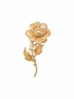 Susan Caplan Vintage брошь Trifari 1960-х годов в форме розы PN6489