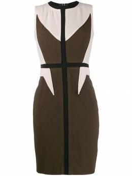 Givenchy Pre-Owned платье 2000-х годов со вставками GIVE450A