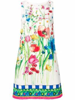 Blugirl платье трапеция с цветочным принтом 7607