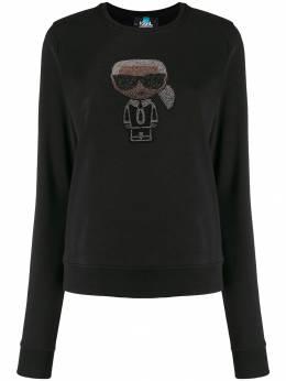 Karl Lagerfeld толстовка Ikonik Karl 96KW1821999