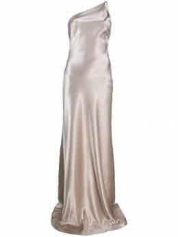 Galvan вечернее платье Roxy на одно плечо 1668