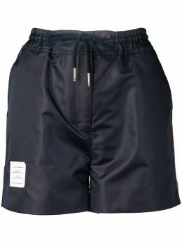 Thom Browne спортивные шорты RWB с полосками FJQ025A03215