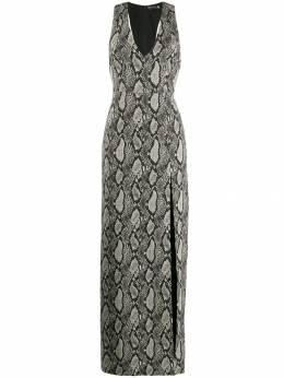 Alice + Olivia платье со змеиным принтом CG906Q23506
