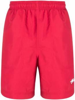 Stussy спортивные шорты с полосками 112227