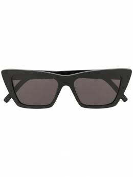 Saint Laurent Eyewear солнцезащитные очки в квадратной оправе SL276MICA