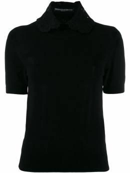 Ermanno Scervino - блузка с кружевным воротником 0M366LXE950386630000