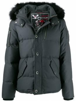 Moose Knuckles куртка с искусственным мехом MK2228M3Q
