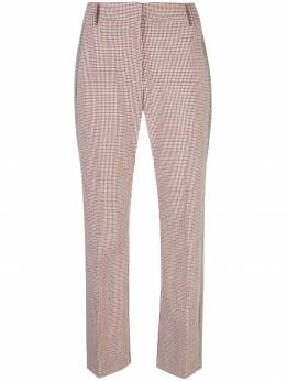 10 Crosby Derek Lam укороченные расклешенные брюки с полосками по бокам TP92101ATC