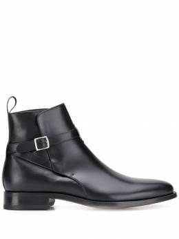 Scarosso ботинки с пряжкой LIBEROJODHBLACALF