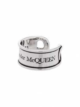 Alexander McQueen кольцо с гравировкой 585482J160Y