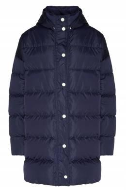 Синяя куртка с монограммой MSGM 296142789