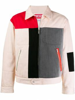 Diesel Red Tag куртка в стиле колор-блок 00SCUG003Y8