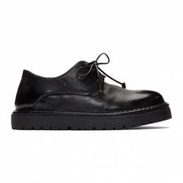 Marsell Black Gomme Pallottola Derby Oxfords MWG353 150