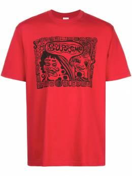 Supreme футболка с принтом SU5645