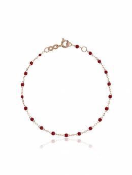 Gigi Clozeau red RG bead rose gold bracelet B3GI001R31