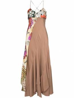 Chloe платье с декоративной деталью CHC19URO11331O11