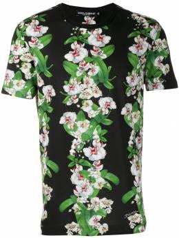 Dolce&Gabbana футболка с цветочным принтом G8KG1THH7WF