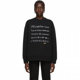 Stella McCartney Black The Beatles Edition All Together Now Sweatshirt 579355SMW85
