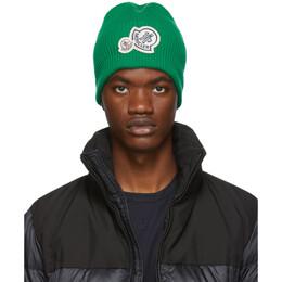 Moncler Green Knit Beanie E2091 99272 00 A9188