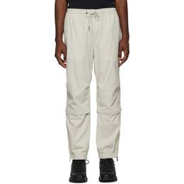 Moncler Off-White Corduroy Sport Trousers E2091 11449 00 549H4