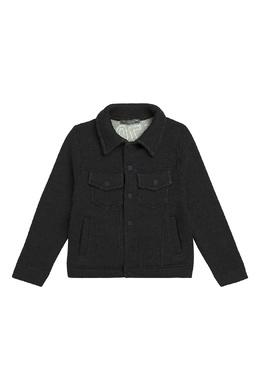 Черная куртка с карманами Bonpoint 1210143382