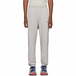 Marcelo Burlon County Of Milan Grey County of Milan Lounge Pants CMCH017F19B370260710