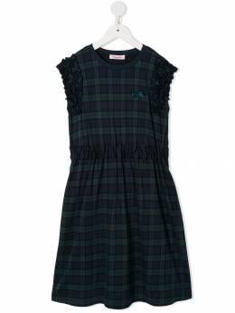 Familiar платье миди в клетку 484590