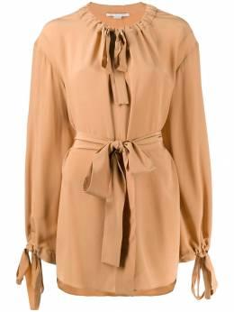 Stella McCartney блузка с завязками на воротнике 574149SY206