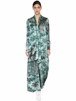 Платье Из Вискощы С Принтом F.R.S For Restless Sleepers 70I4T7003-ODA40
