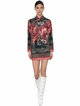 "Платье Из Шелка С Принтом ""cheongsam"" F.R.S For Restless Sleepers 70I4T7001-Mjkz0"