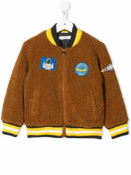 Stella McCartney Kids куртка-бомбер Spaced Out 566454SNK85
