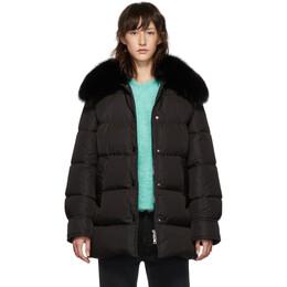 Moncler Black Down Mesange Jacket E2093469312554155