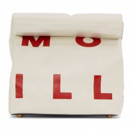 Simon Miller White Small Lunch Bag 20 Clutch S809-7024