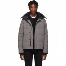 Canada Goose Grey Black Label Macmillan Parka 3804MB