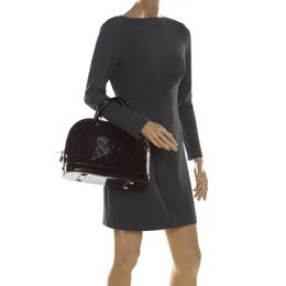 Louis Vuitton Amarante Monogram Vernis Alma PM Bag 210239