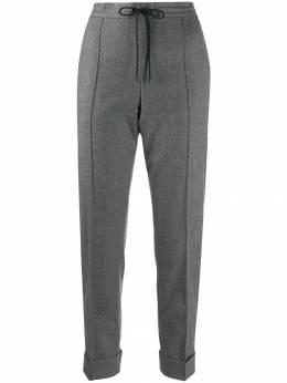 Kenzo зауженные брюки с подворотами F962PA1675AW