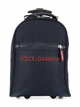 Dolce & Gabbana Kids сумка на колесах с логотипом EM0083A9416